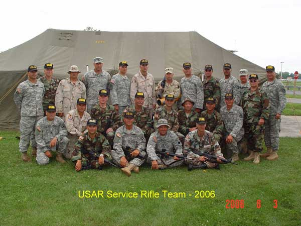 2006 USAR Service Rifle Team at Camp Perry.