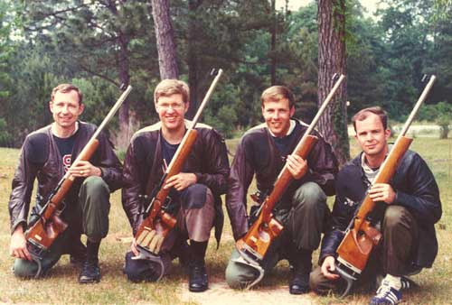 1974 National Indoor Conventional Rifle Team Champions
