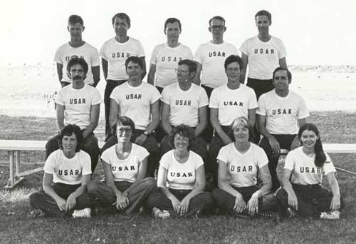 1980 USAR International Rifle Team at Camp Perry