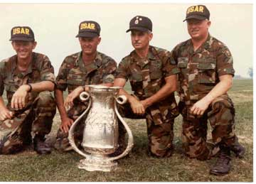 1988 USAR team that won the Herrick Trophy.