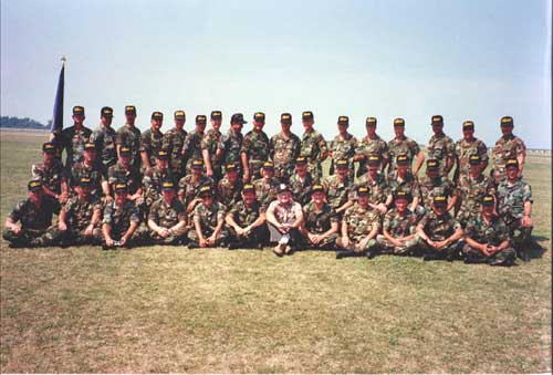 1990 USAR Service Rifle Team at Camp Perry