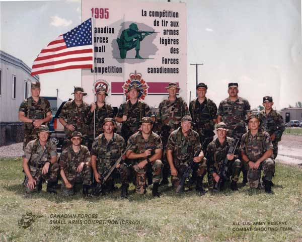 1995 USAR Combat Team in Canada.