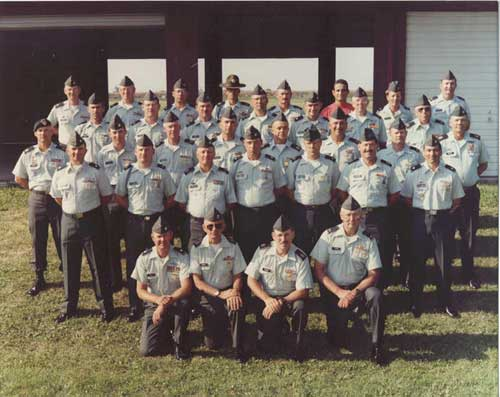 1996 USAR Service Rifle Team at Camp Perry