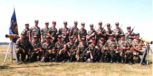 1999 USAR Service Rifle Team at Camp Perry
