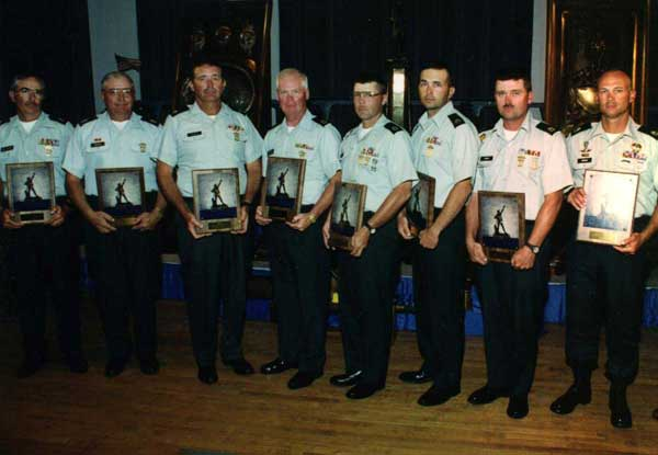 High Reserve Component Team in the 1999 National Infantry Trophy Team Match