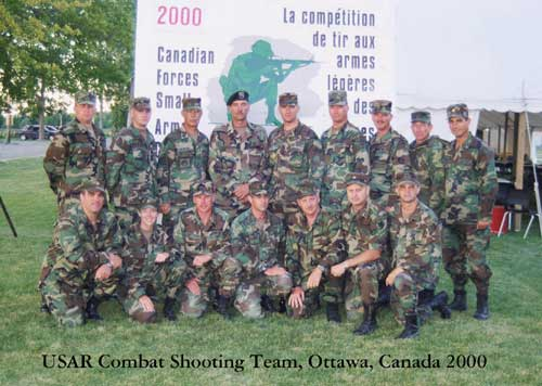USAR Combat Team at 2000 Canadian Skill at Arms Competition