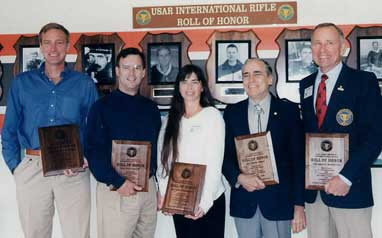 USAR International Rifle Roll of Honor Inductees