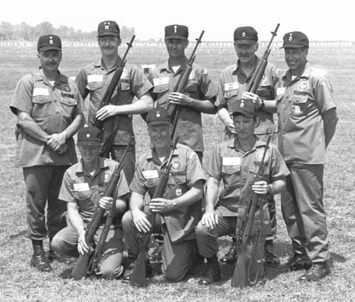 1983 National Trophy Infantry Team Champions