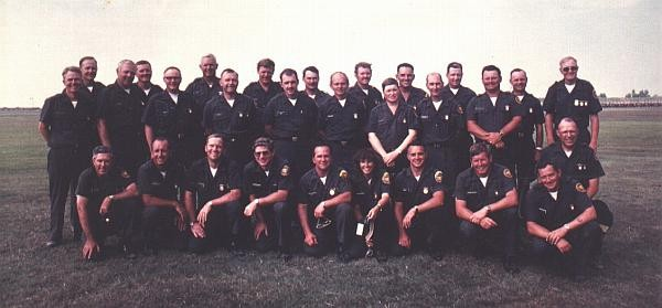 1978 USAR Service Pistol Team, Camp Perry, OH.